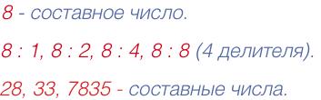 составное число